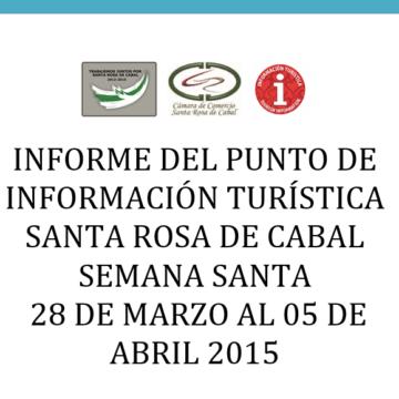Informe PIT Semana Santa – 2015.