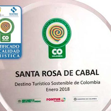 """Certificación como """"Destino Turístico Sostenible""""."""