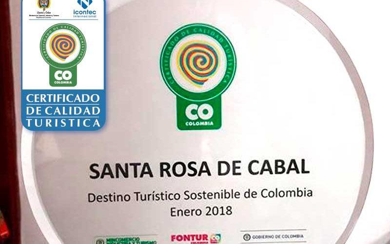 Certificación como «Destino Turístico Sostenible».