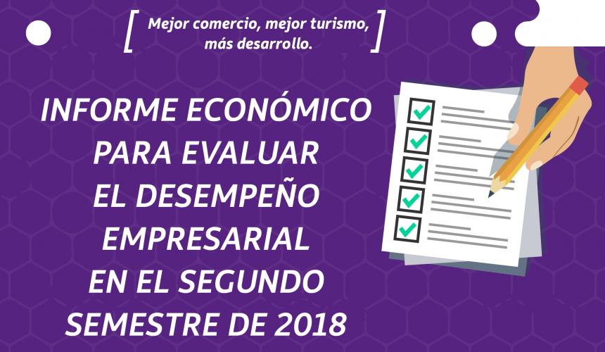 INFORME ECONÓMICO PARA EVALUAR EL DESEMPEÑO EMPRESARIAL EN EL SEGUNDO SEMESTRE DE 2018 Y LAS EXPECTATIVAS PARA EL PRIMER SEMESTRE DE 2019.