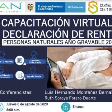 Memorias – Capacitacion Virtual Declaración de Renta