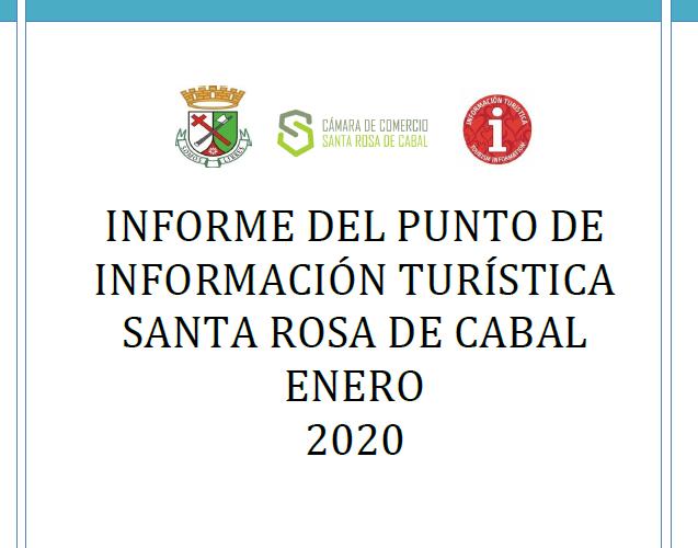 INFORME DEL PIT SANTA ROSA DE CABAL ENERO 2020